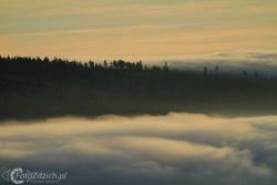 13 Inwersja i zachód słońca w Karkonoszach_november_2011