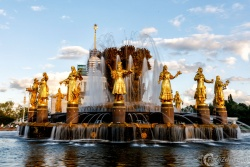 Fountain Druzhba Narodov ВДНХ 2277