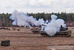 18 Ćwiczenia żołnierzy Wojsk Lądowych Stanów Zjednoczonych razem z żołnierzami 10 Brygady Kawalerii Pancernej ze Świetoszowa_listopad 2015