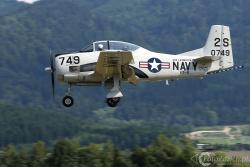 North American T 28C Trojan 3458