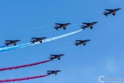 Patrouille de France Alpha Jet 9528
