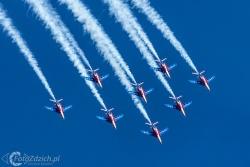 Patrouille de France Alpha Jet 9555