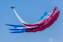 Patrouille de France Alpha Jet 9711