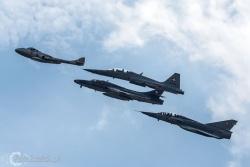 Hunter-Mirage III-F5E Tiger-Vampire 3421