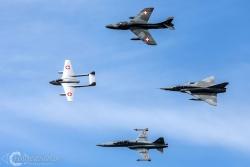 Hunter-Mirage III-F5E Tiger-Vampire 5016