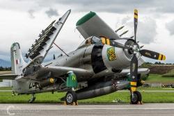 Douglas AD 4N Skyraider 6660