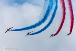 Patrouille de France- Alpha Jet 4556
