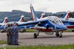 Patrouille de France- Alpha Jet 7257