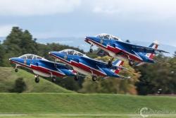 Patrouille de France- Alpha Jet 7458