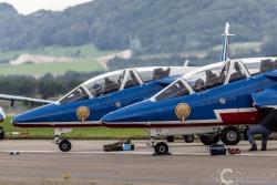 Patrouille de France- Alpha Jet 7596