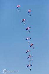 RAF Falcons Para Jumpers 1883