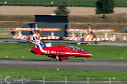 Red Arrows-Hawk T1 1071