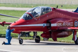 Red Arrows-Hawk T1 2003