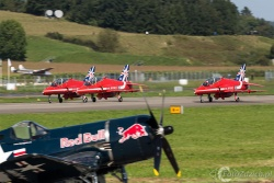 Red Arrows-Hawk T1 2085