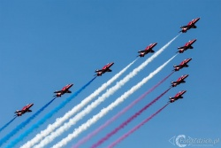 Red Arrows-Hawk T1 2114