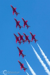 Red Arrows-Hawk T1 2120