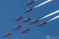 Red Arrows-Hawk T1 2122