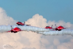 Red Arrows-Hawk T1 2158