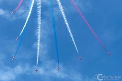 Red Arrows-Hawk T1 2186