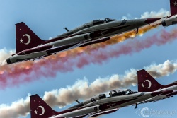 Canadair NF 5A Turkish Stars 4645