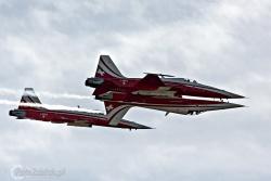 Patrouille de Suisse F-5E TigerII 0688