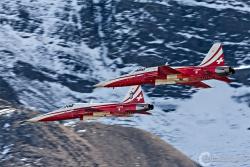 Patrouille de Suisse F-5E TigerII 0689