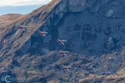 Patrouille de Suisse F-5E TigerII 0700