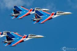 Russian Knights Su 30SM 2010