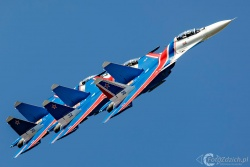 Russian Knights Su 30SM 4756