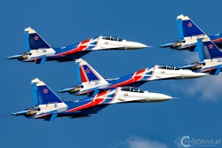 Russian Knights Su 30SM 4833