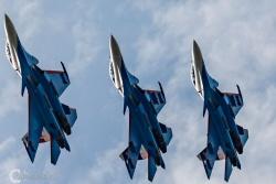 Russian Knights Su 30SM 9208