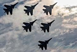 Russian Knights Su 30SM 9327