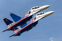 Russian Knights Su 30SM 9576