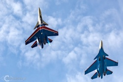 Russian Knights Su 30SM 9750